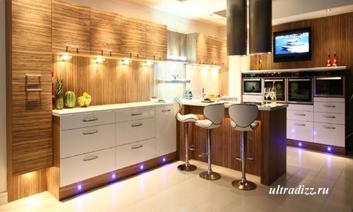 современная кухонная мебель 11