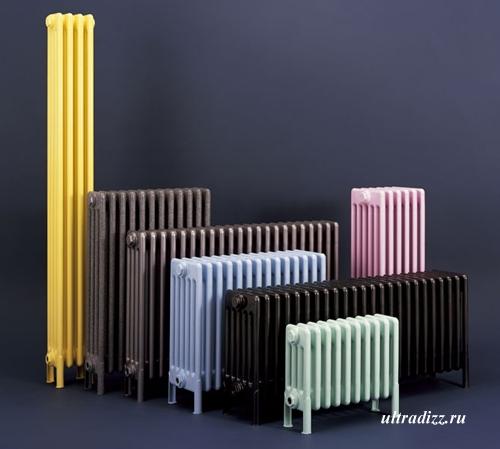 цветные модели радиаторов