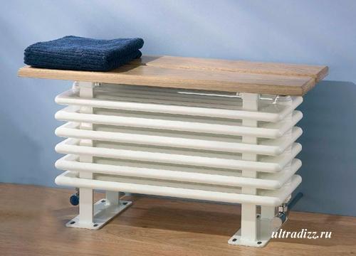 радиатор с сиденьем
