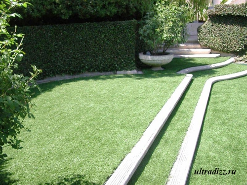 оригинальный рулонный газон