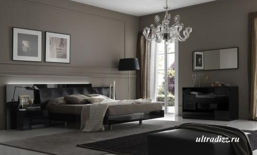 серый цвет в интерьере 1