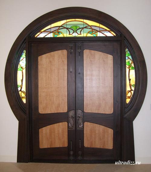 входные двери в стиле модерн