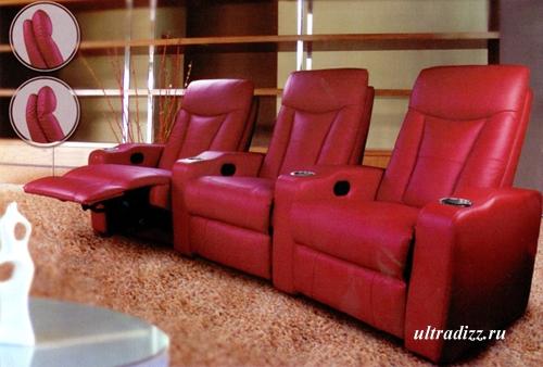 мягкая мебель для домашних кинотеатров 1