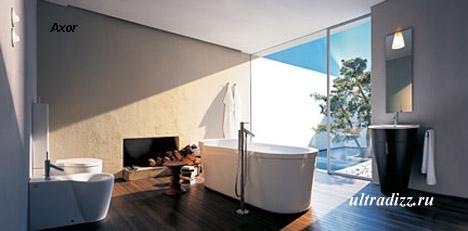 современная отдельно стоящая ванна