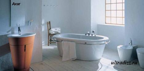 удобная отдельно стоящая ванна