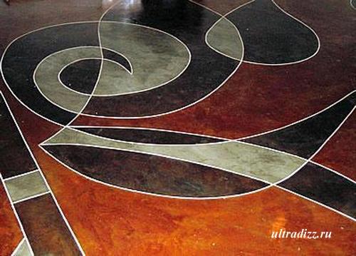 декоративные цементные полы 6