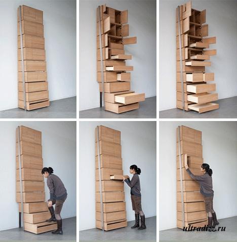 шкаф-лестница