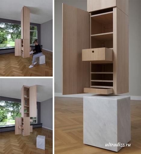 шкаф с потолочным креплением