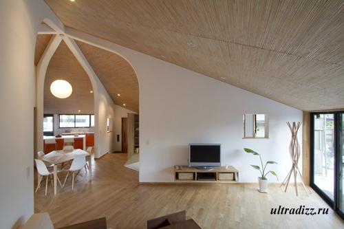 интерьер необычного дома 4