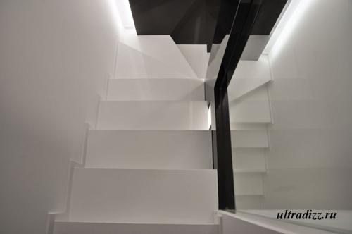 черно-белый дизайн интерьера 7