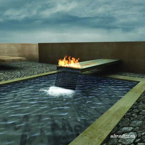 наружные газовые камины 19
