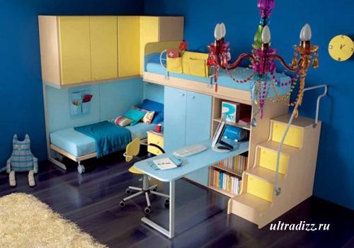 интерьер комнаты подростка по фэн-шуй