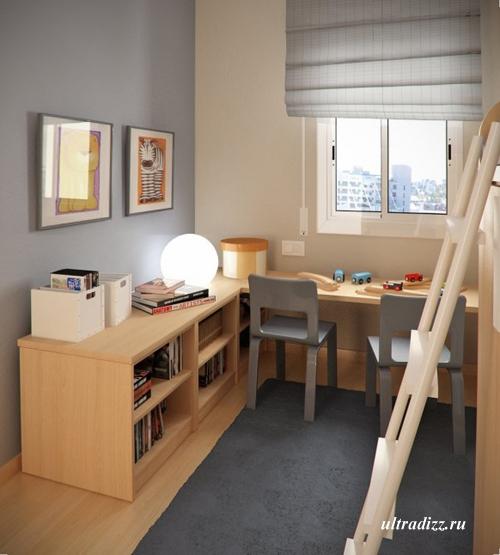 мебель в маленькой детской
