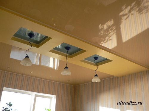 глянцевые французские потолки 1