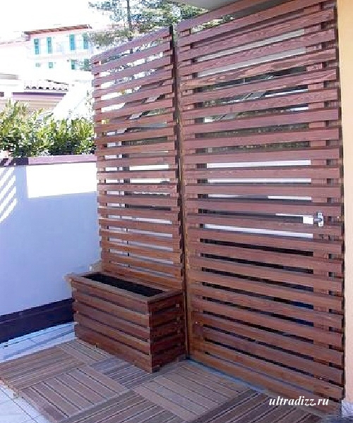 решетчатые деревянные заборы и ограждения 1
