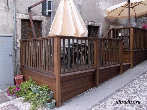 решетчатые деревянные заборы и ограждения 3