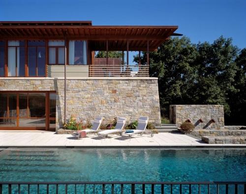 современный дизайн загородного дома 1