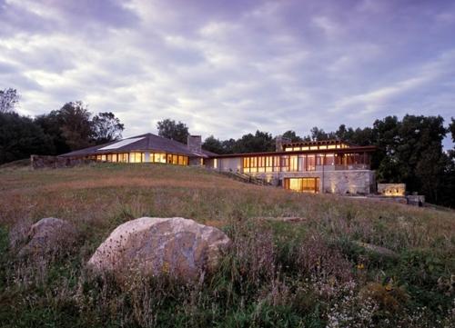 современный дизайн загородного дома 3