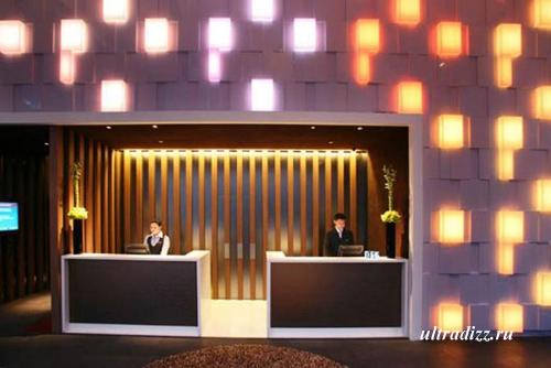 современное освещение отеля 8