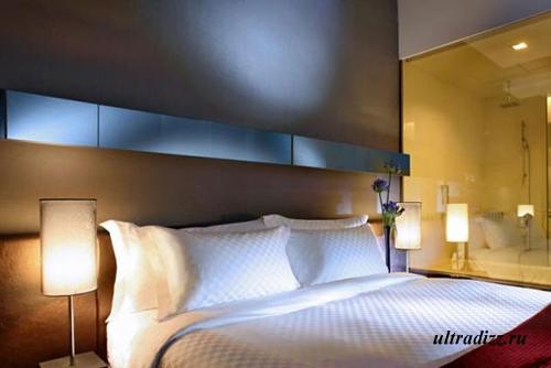 современное освещение отеля 4