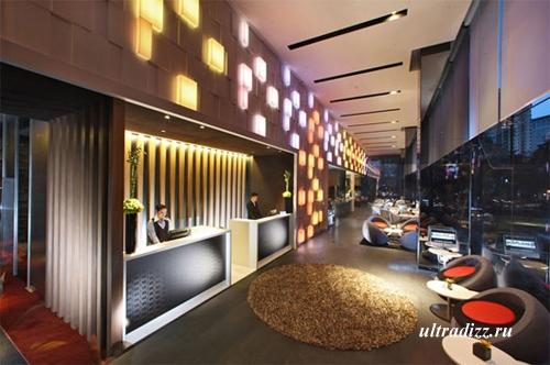 современное освещение отеля 9
