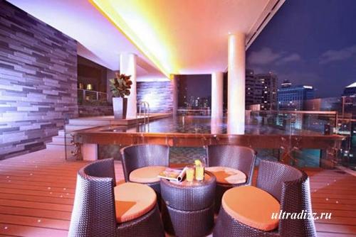 современное освещение отеля 5
