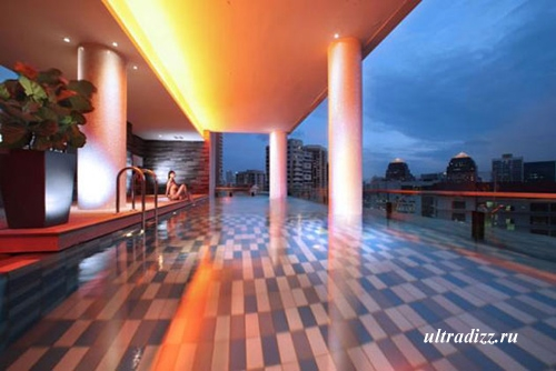 современное освещение отеля 6