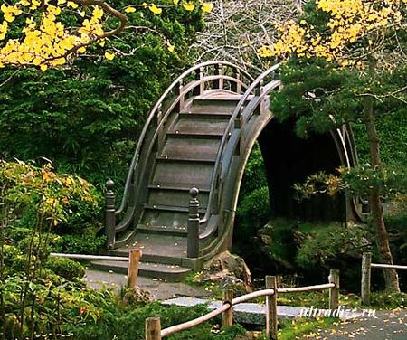 ландшафтный дизайн в японском стиле 2