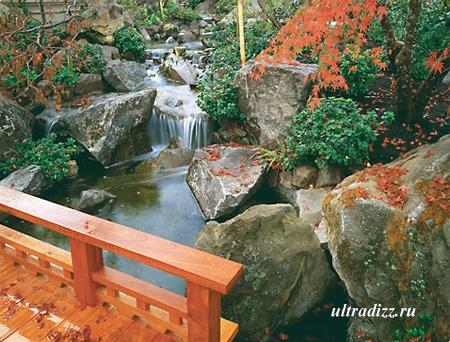 ландшафтный дизайн в японском стиле 4