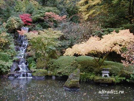 ландшафтный дизайн в японском стиле 5