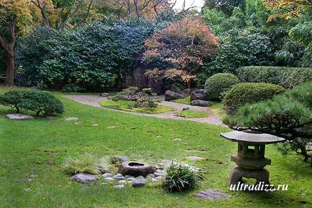 ландшафтный дизайн в японском стиле 7