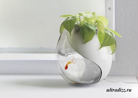 необычные цветочные горшки 7