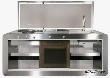 компактный кухонный модуль 1