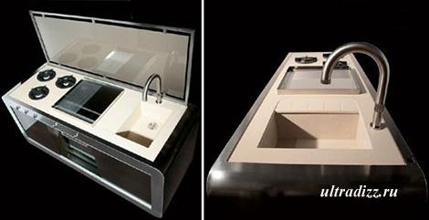 компактный кухонный модуль 2