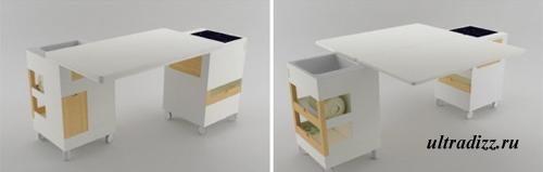 компактная кухонная мебель 4