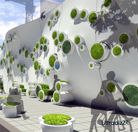 экологичное ограждение площадок
