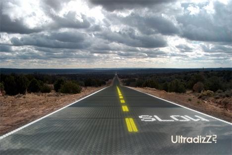 современное дорожное покрытие