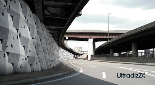 ограждение шоссе
