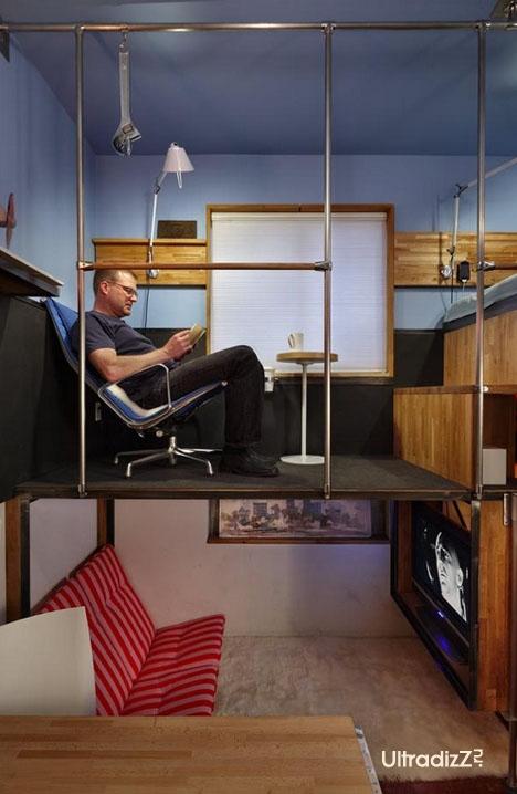 интерьер маленькой квартиры 4