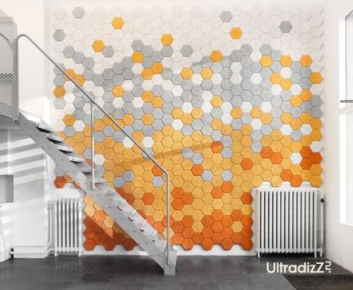 облицовка стены новыми облицовочными панелями