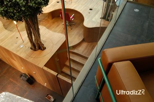 необычный дизайн интерьера офиса 4