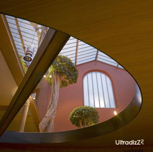 необычный дизайн интерьера офиса 3