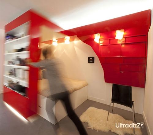интерьер однокомнатной квартиры 2