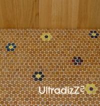 мозаичное пробковое напольное покрытие 1