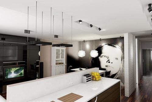 интерьер маленькой однокомнатной квартиры 3