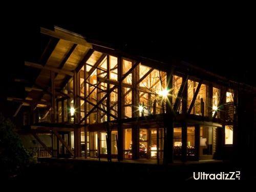 деревянный каркасный дом 5