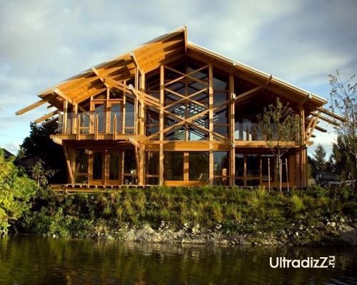 деревянный каркасный дом 1