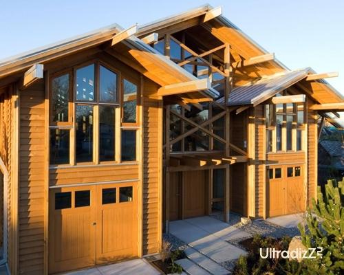 деревянный каркасный дом 3
