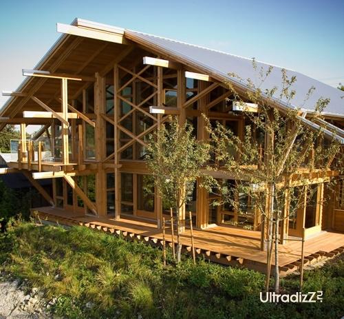 деревянный каркасный дом 7