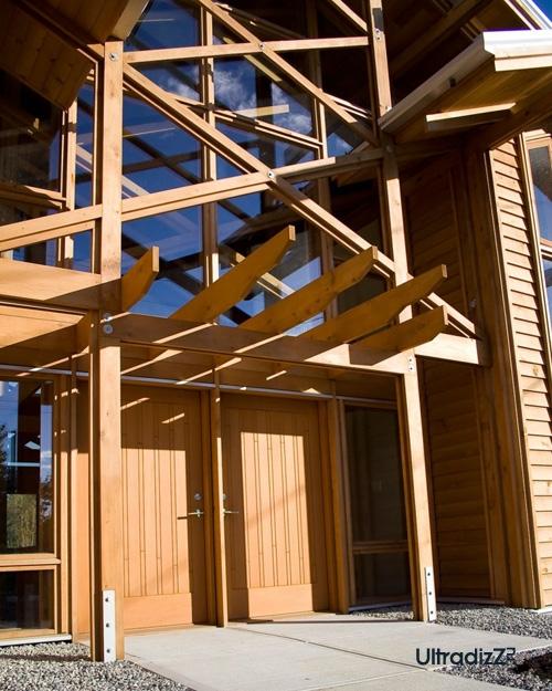 деревянный каркасный дом 8